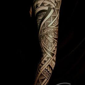 POLYNESISCH ,MAORI,SLEEVE,TATTOO,TATOEAGE