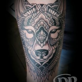 POLYNESISCH ,MAORI,WOLF,TATTOO,TATOEAGE
