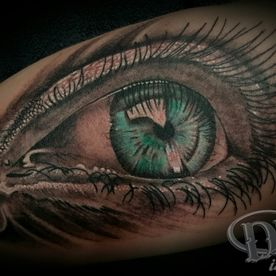 COLOUR,KLEUR,REALISTIC,REALISTISCH,OOG,EYE,3D,TATTOO,TATOEAGE