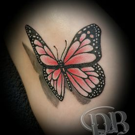 COLOUR,KLEUR,VLINDER,REALISTISCH.BUTTERFLY,REALISTIC,TATTOO,TATOEAGE